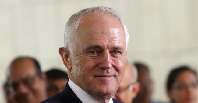 The Latest: Pence, Turnbull urge China to pressure N. Korea