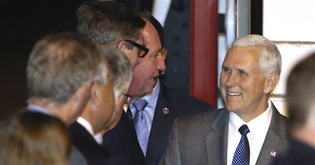 Pence reaffirms US-Australia alliance after Trump spat