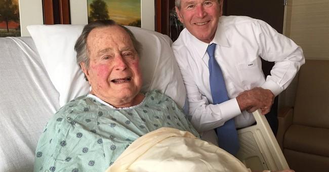 George HW Bush to stay through weekend in Houston hospital