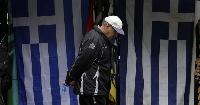 Greece beats a key bailout target but faces hard choices