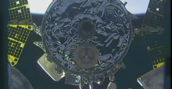 Supply ship named for John Glenn arrives at space station
