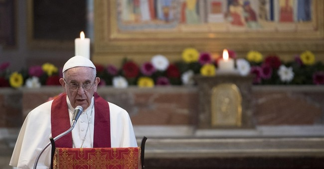 Pope pays to rent beach space for disabled youths
