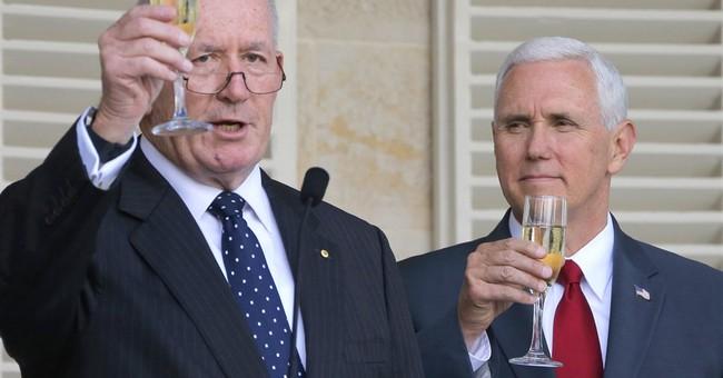 Pence embraces US-Australia partnership after Trump spat