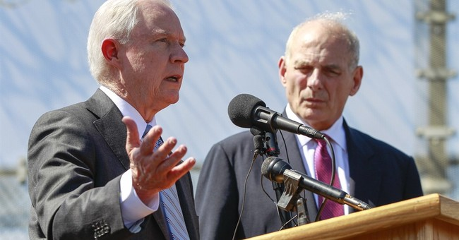 Sessions praises NYPD after 'soft on crime' controversy