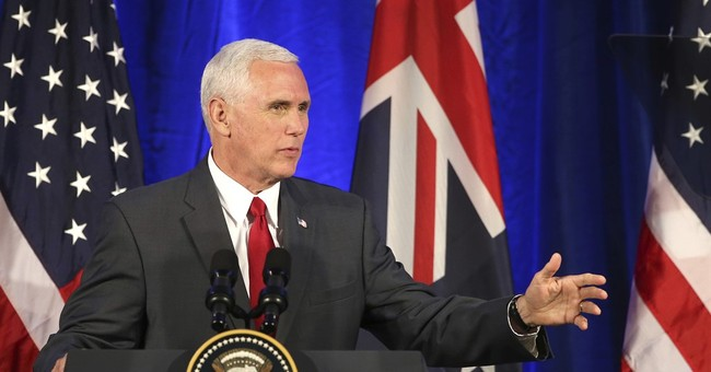 The Latest: Pence wraps up Aussie visit at famed opera house