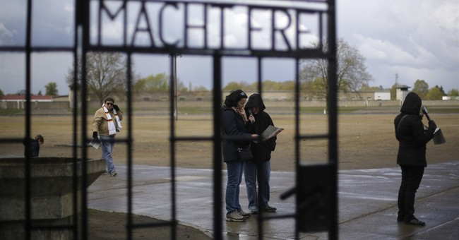Ceremonies mark liberation of 2 Nazi camps 72 years ago