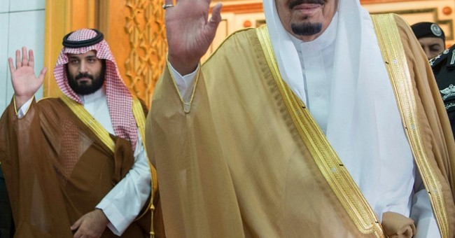 Saudi king names son as US envoy as ties boosted with Trump