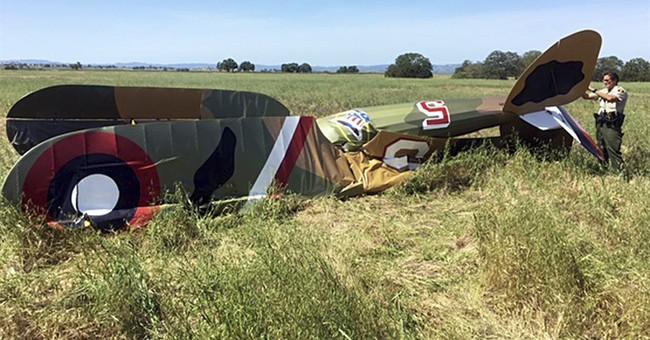 Pilot killed in crash of replica WWI-era plane in California