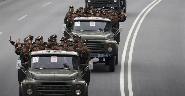 NKorea marks military anniversary with firing drill
