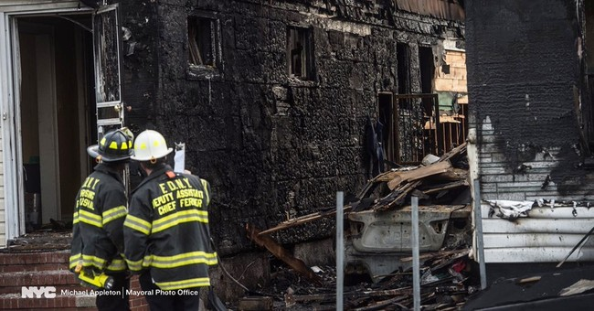 Authorities say 5 dead in New York City fire