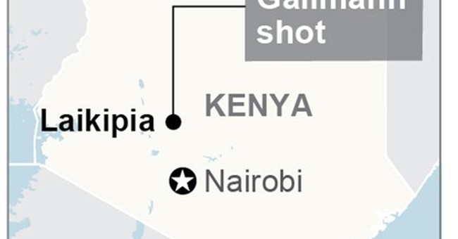 2 suspects dead after author, conservationist shot in Kenya