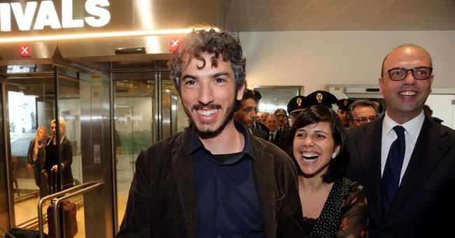 Italian journalist home after 2 weeks detention in Turkey