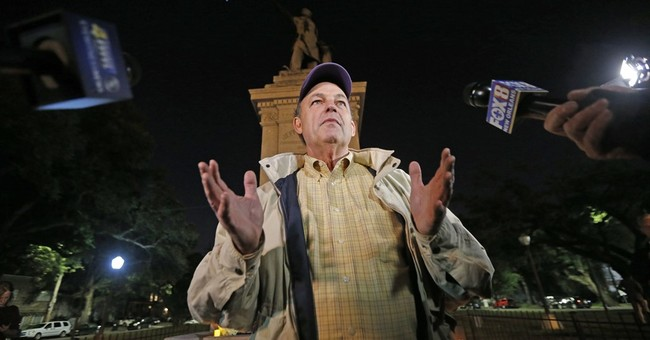 The Latest: Group decries the way statues are being removed