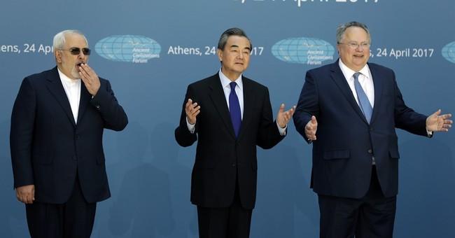 Diplomats representing ancient civilizations meet in Athens