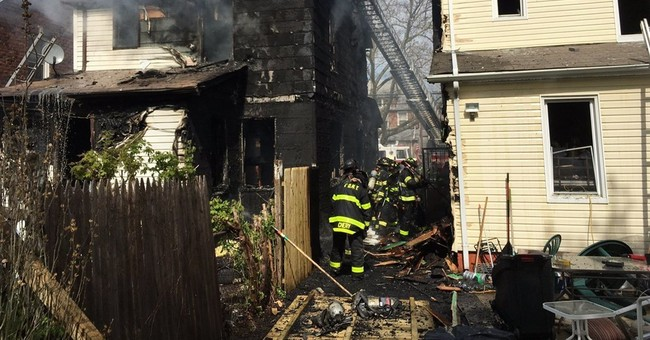Investigators sift through wreckage after fire that killed 5
