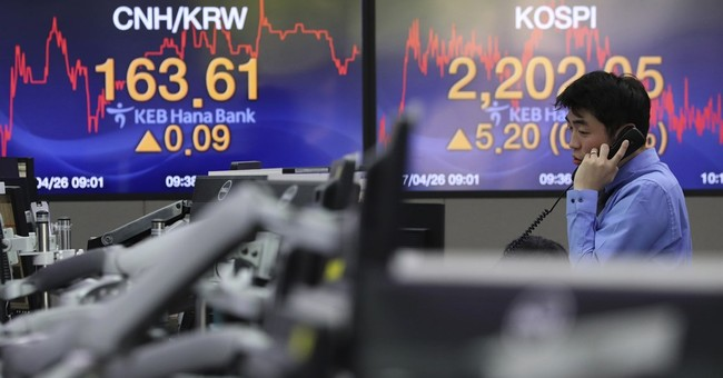 Asian stocks climb on hopes for US tax cuts, budget deal