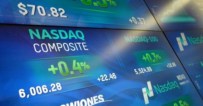 Nasdaq breaches 6000 mark for first time ever