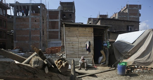 Nepal makes scant progress in rebuilding 2 years after quake