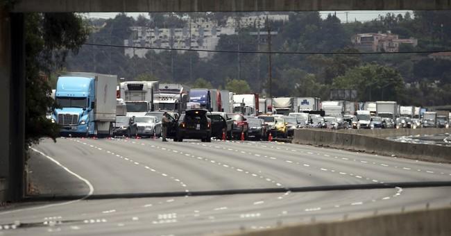 Fiery, deadly wreck snarls Interstate 5 in Los Angeles