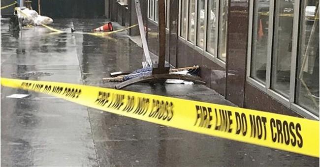 English tourist hit by hammock blown off building, injured