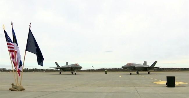 US F-35 stealth fighters arrive in Estonia for NATO drills