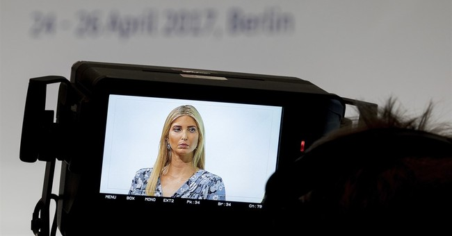 Ivanka Trump hears groans as she defends father in Berlin