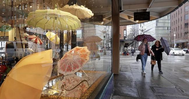 The Latest: Portland also weathering wet, bleak season