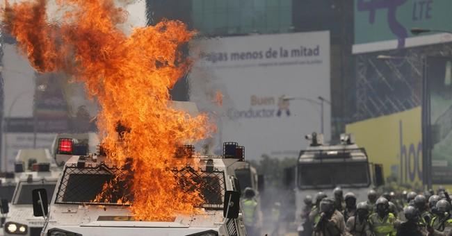 The Latest: Venezuela says it's renouncing membership in OAS