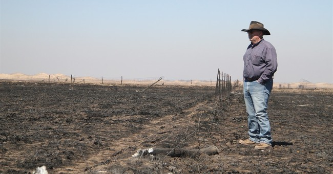 Some high plains farmers struggling after fires, drought