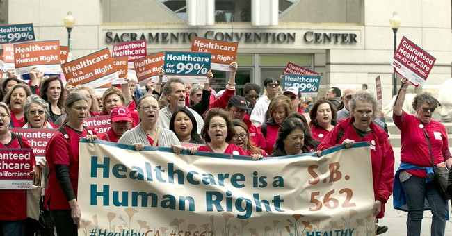 The Latest: California universal health measure advances