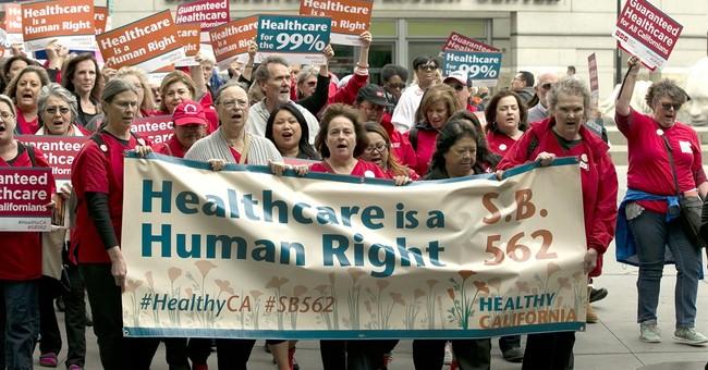 The Latest: California universal health measure advances