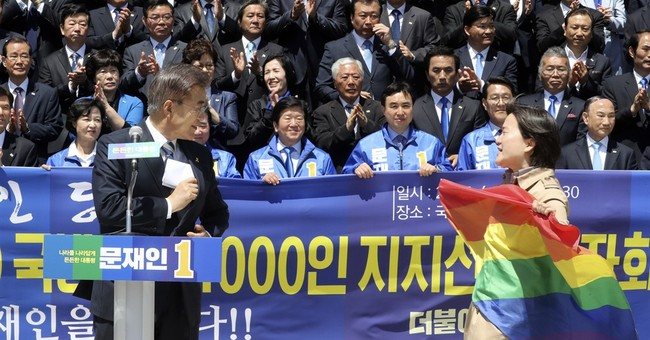 S.Korea presidential hopeful criticized for anti-gay comment