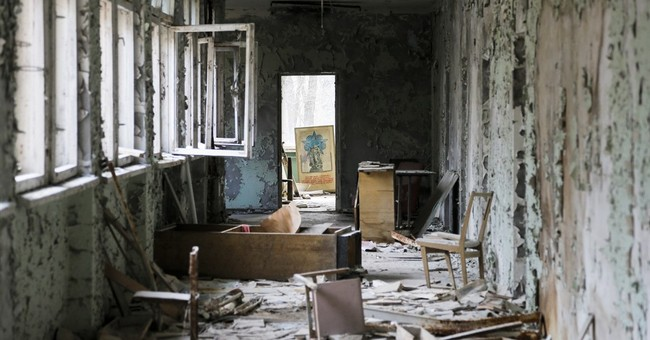 AP Photos: Chernobyl's ghost town draws daring visitors