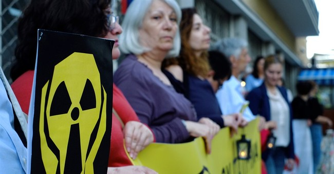 Cyprus activists protest Turkey's planned nuclear plant