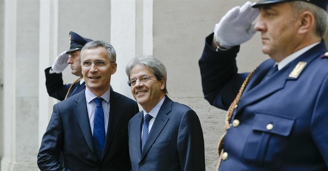 NATO chief acknowledges Italy for boosting defense spending