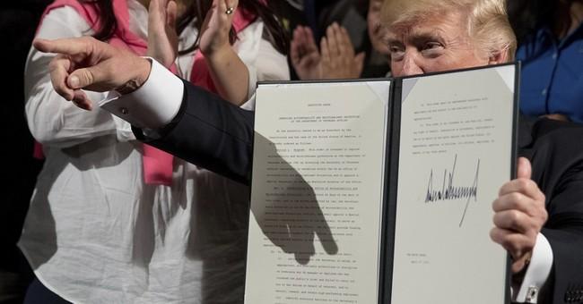 Trump signs order creating accountability office at VA