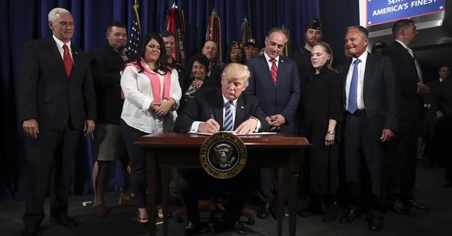 The Latest: Trump creates accountability office at VA