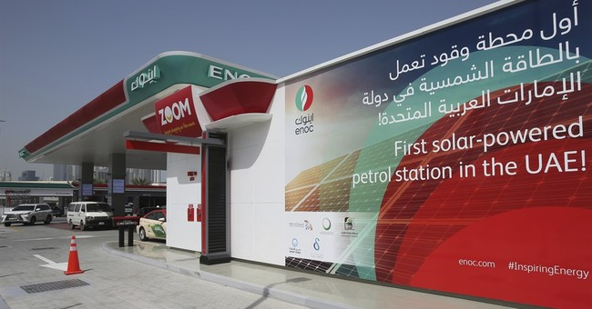 UAE's first solar-powered gas station opens in Dubai