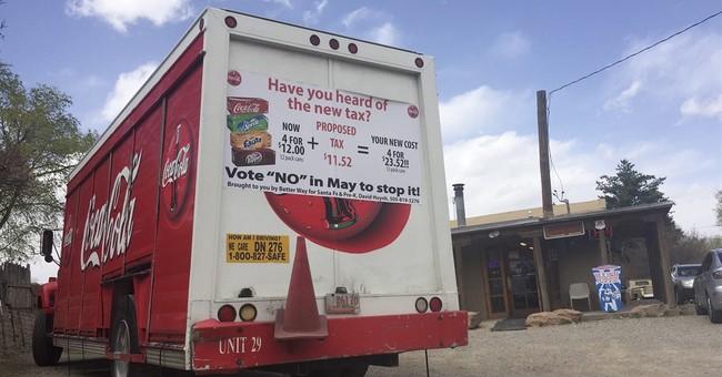 New Mexico city seeks sugary drink tax