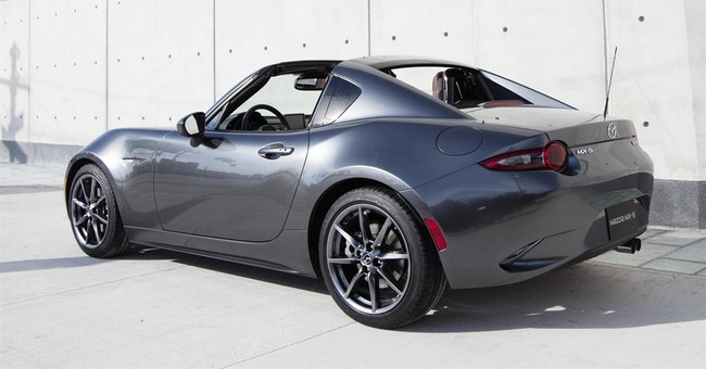 Mazda MX-5 Miata RF: Open-air driving with structure