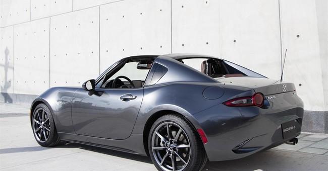 Mazda MX-5 Miata RF: Open-air driving with structure