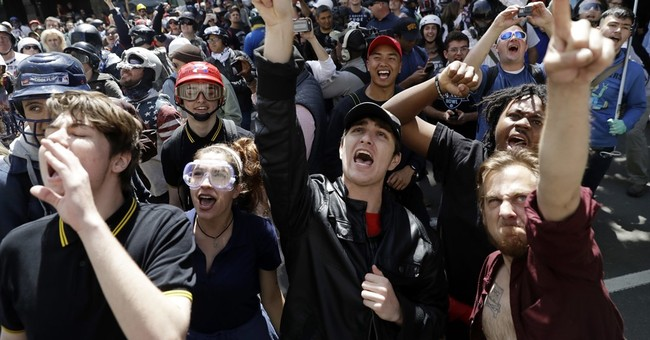 The Latest: Berkeley hails peaceful debate over Ann Coulter