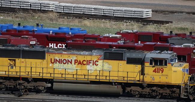 Union Pacific railroad's 1Q profit chugs ahead 9 percent