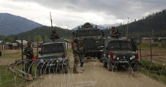 Kashmir civilian killed, 7 injured during anti-India protest