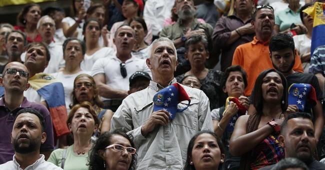 Trump says Venezuela's 'a mess'