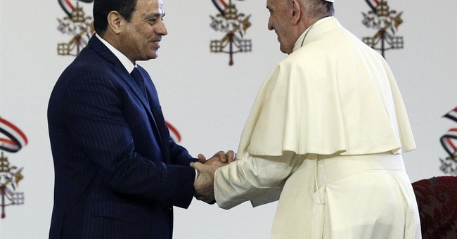 In Egypt, pope brings a message of peace amid crackdown