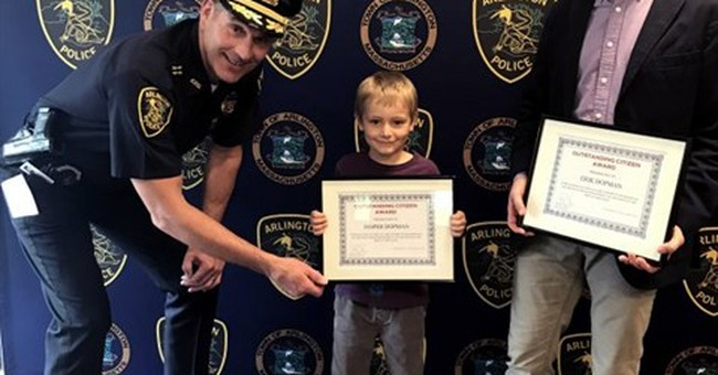 Boy turns in $2,000 he found, gets Outstanding Citizen Award