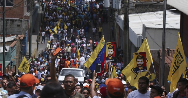 The Latest: Venezuela calls OAS forum for 'coercion'