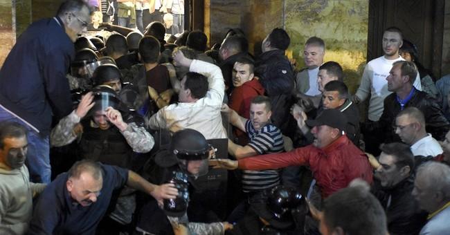 A look at Macedonia's deepening political turmoil