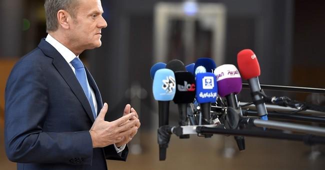 The Latest: EU says UK blocking progress on budget review